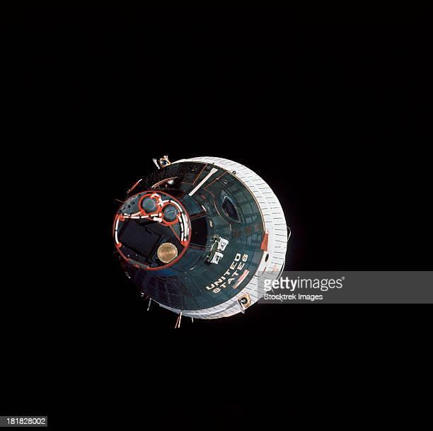 The Gemini 7 spacecraft.