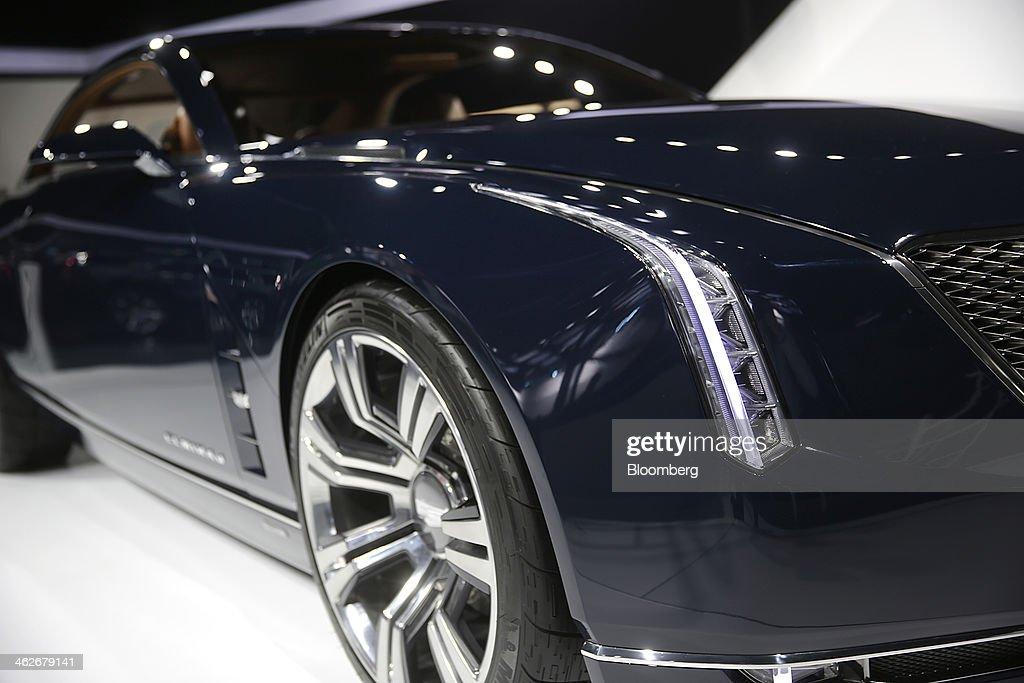 The General Motors Co Gm Cadillac Elmiraj Vehicle Is