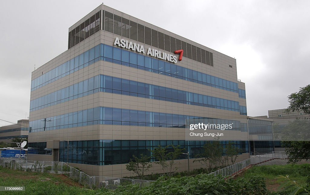 The General view of Asiana Airlines headquarters on July 7, 2013 in Incheon, South Korea. Two people are dead and more than 180 injured after an Asiana Airlines Boeing 777 aircraft coming from Seoul, South Korea crash-landed at San Francisco International Airport on July 6, 2013.
