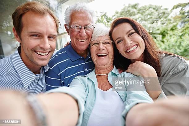 La génération de puissance des selfies