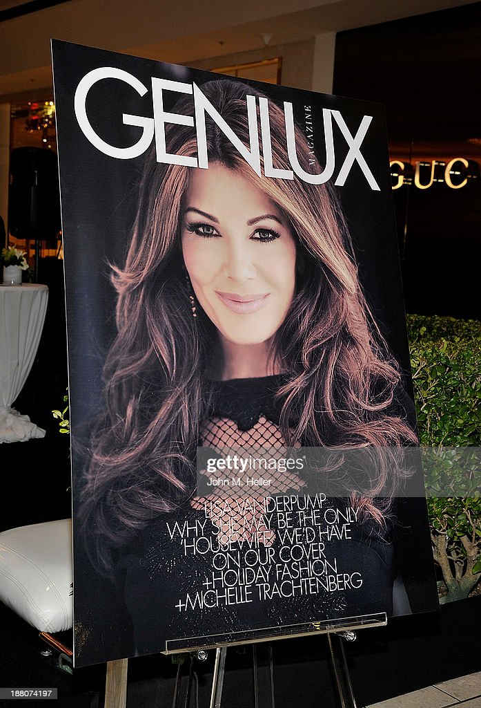 The GENLUX magazine Launch Event Party at The Beverly Center on November 14, 2013 in Los Angeles, California.