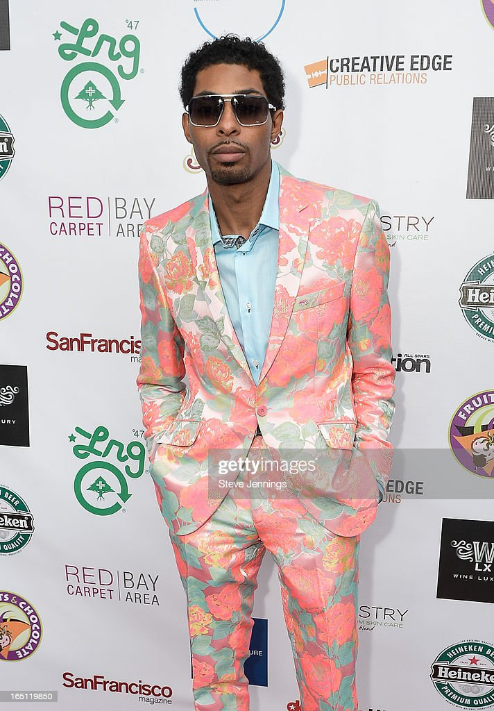 The Gentleman's Closet designer attends the 6th Annual 'Where Hip Hop Meets Couture' Fashion Show at Dog Patch Wine Works on March 30, 2013 in San Francisco, California.
