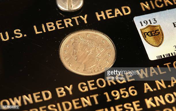 The George O Walton Specimen 1913 Liberty Head Nickel is offered for auction by Heritage Auctions on April 25 2013 in Schaumburg Illinois Bidding for...