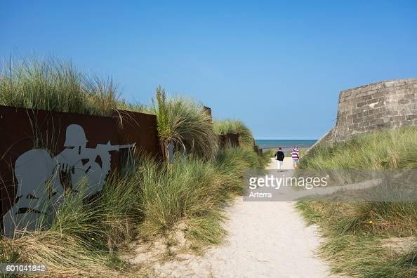 the-german-bunker-cosys-pillbox-at-juno-beach-courseullessurmer ...