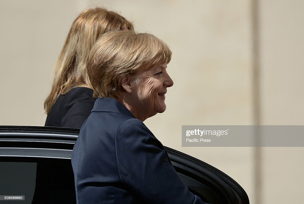 The German chancellor, Angela Merkel was received in private audience by Pope Francis before the giving of the Charlemagne Prize to the Pope.