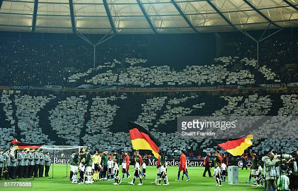 The German Fan Club prior to the international friendly match between Germany and England at Olympiastadion on March 26 2016 in Berlin Germany