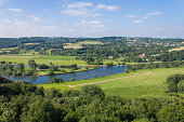 the German Ruhr river