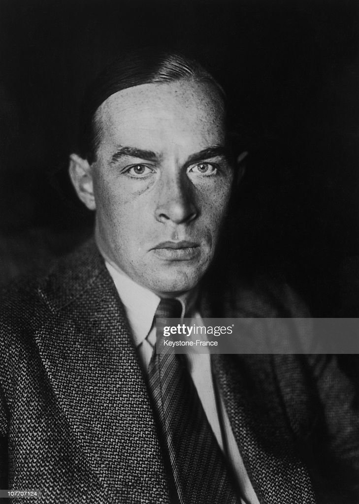The German Writer <a gi-track='captionPersonalityLinkClicked' href=/galleries/search?phrase=Erich+Maria+Remarque&family=editorial&specificpeople=894627 ng-click='$event.stopPropagation()'>Erich Maria Remarque</a>