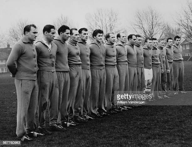The Germany national football team during training a day before the friendly match against England at Wembley Harrods Sports Club Barnes London 30th...