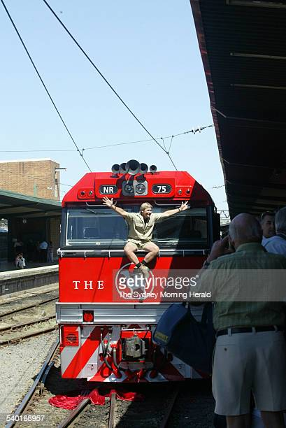 The Ghan locomotive relaunched and christened by Steve Irwin at Sydney Central Station The locomotive has been named after Irwin 25 September 2003...