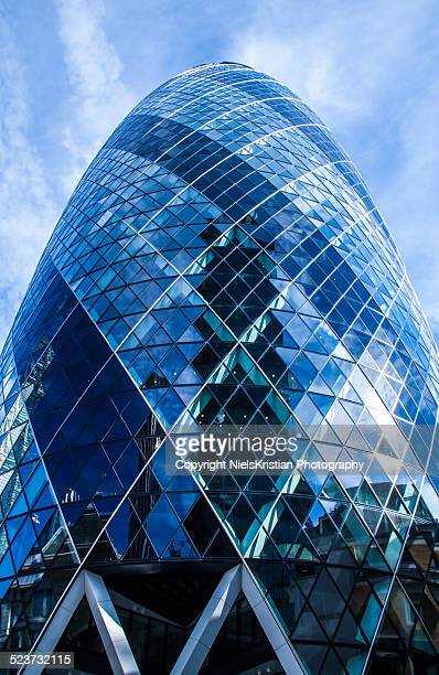 The Gherkin 30 St Mary Axe Building London UK