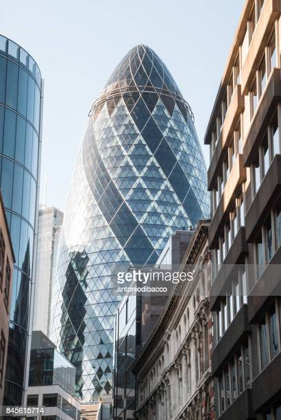 The Gherkin in the City