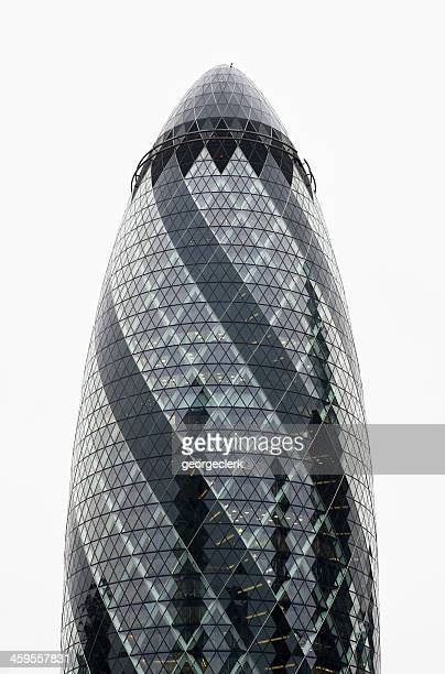'The Gherkin' or 30 St Mary Axe in London