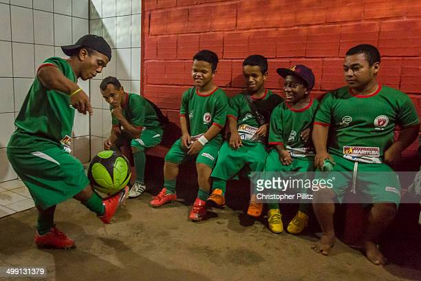 The 'Giants of the North' dwarf soccer team