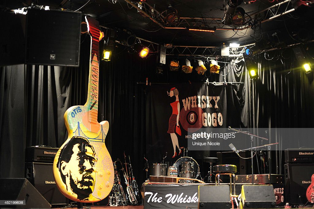 The Gibson Art Guitar honoring the Late Otis Redding On The Sunset Strip at The Whiskey A Go Go on July 15, 2014 in West Hollywood, California.
