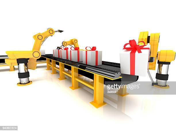 The gift conveyor