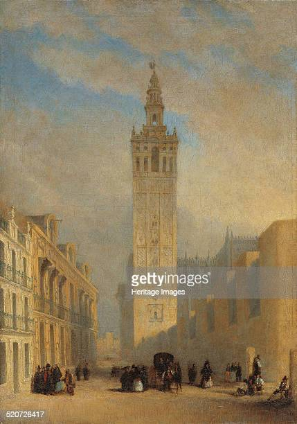 The Giralda seen from Calle Placentines Found in the collection of Museo Carmen Thyssen Málaga