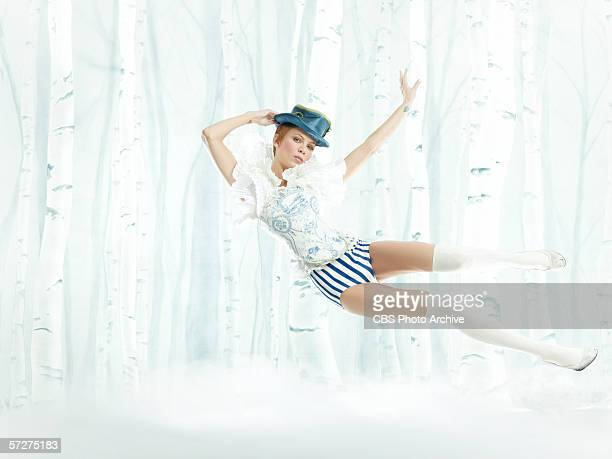 'The Girl Who Kissed The Roach' Mollie Sue Waitress age 25 of Tampa Florida poses as a fairy tale character then challenged to nail a perfect pose in...