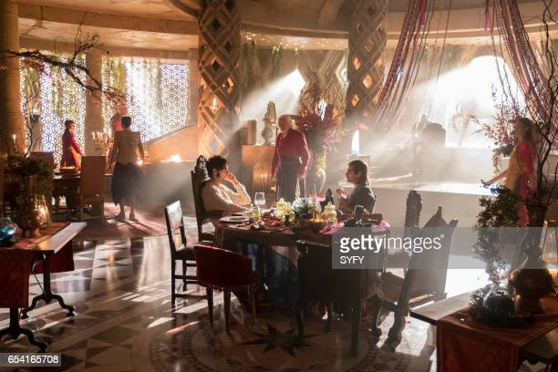 THE MAGICIANS 'The Girl Who Told Time' Episode 210 Pictured Hale Appleman as Eliot Jason Ralph as Quentin