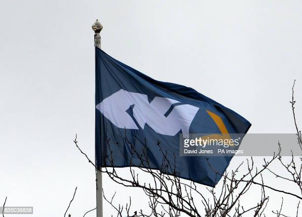 The GKN flag at the driveline plant in Aldridge West Midlands as they today announced 242 job cuts The firm which employs around 6400 workers in the...