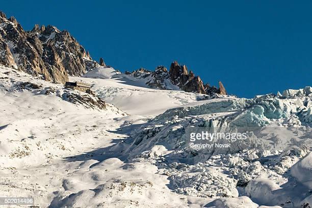 The Glacier du Tour and Refuge Albert Premier