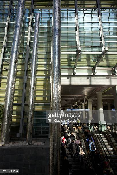 The Glass building of the Britomart transport Centre Auckland New Zealand 2nd November 2010 Photo Tim Clayton