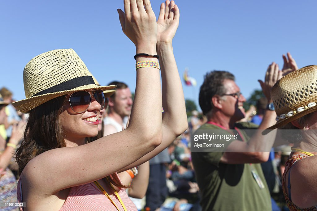 The Glastonbury Festival 2011 : Stock Photo
