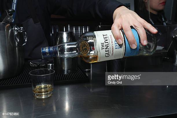 The Glenlivet being served at the Blue Moon Burger Bash presented by Pat LaFrieda Meats hosted by Rachael Ray at the Food Network Cooking Channel New...
