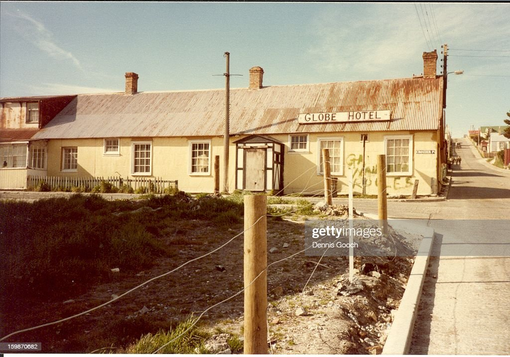 CONTENT] The Globe Hotel Port Stanley. October 1983