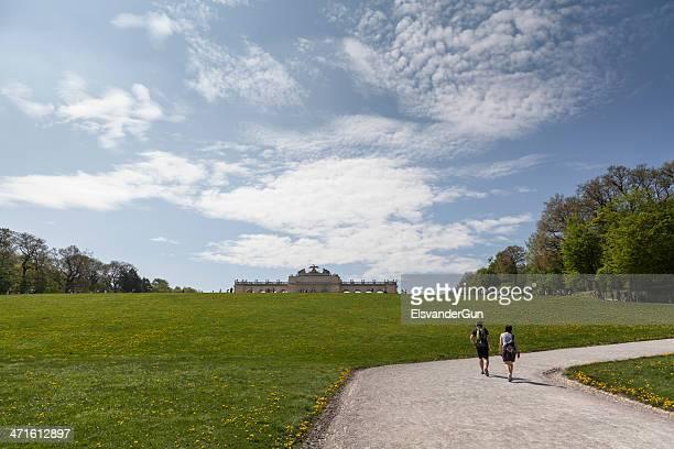 The Gloriette in Schonbrunn Palace Garden