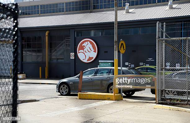 The GM Holden Ltd logo is displayed outside a building at the company's headquarters in Melbourne Australia on Wednesday Dec 11 2013 General Motors...