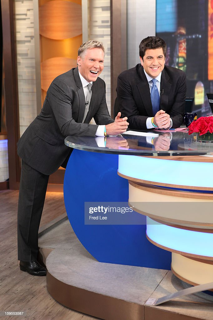 AMERICA - The GMA anchors react to a message from Robin Roberts on 'Good Morning America,' 1/14/13, airing on the ABC Television Network. (Photo by Fred Lee/ABC via Getty Images)SAM