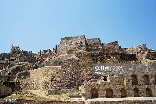 The Golconda Fort , Hyderabad