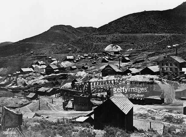 The Gold Hill mining camp in California