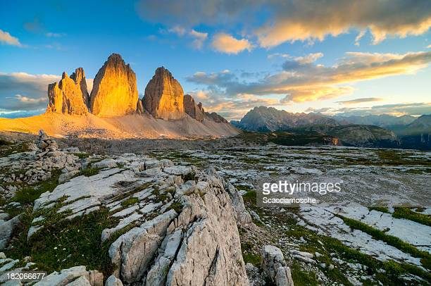 The gold of Dolomites