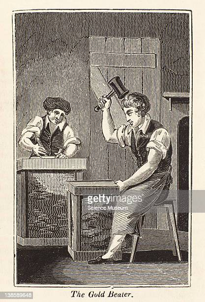 The GoldBeater is a workman who by continually beating gold or silver upon marble with a hammer in thin skins reduces these metals into very thin...