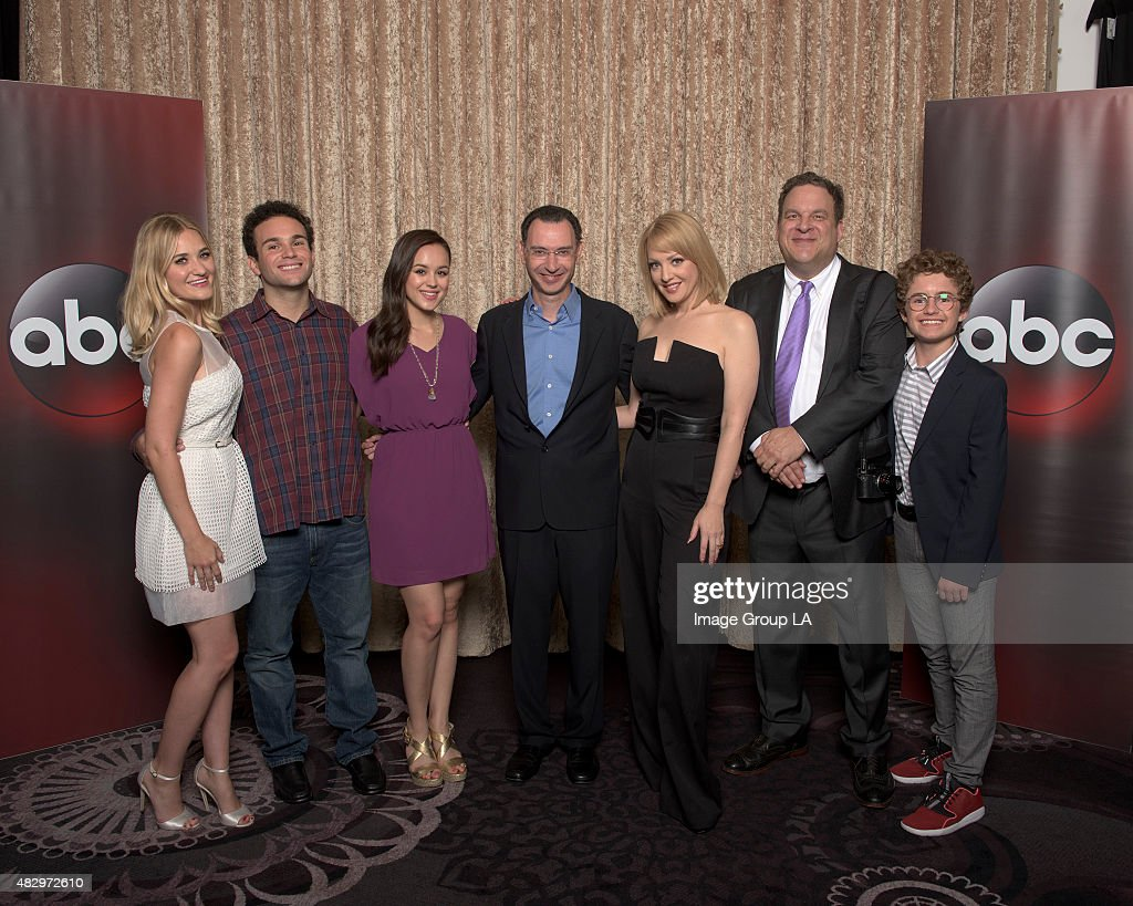 TOUR 2015 - 'The Goldbergs' Session - The cast and producers of ABC's 'The Goldbergs' at Disney | ABC Television Group's Summer Press Tour 2015 at The Beverly Hilton in Beverly Hills, California.