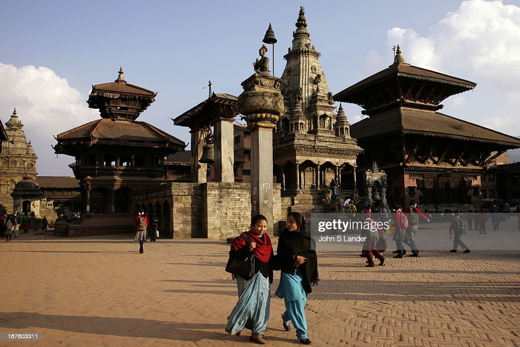 The Golden Gate is the centre of attraction at Bhaktapur Durbar Square but the magnificent workmanship of the other buildings shrines and temples...