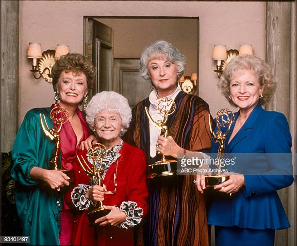 GIRLS 9/14/85 9/14/92 'The Golden Girls' is one of only three sitcoms in which all the main actors won at least one Emmy Award Rue McClanahan Estelle...