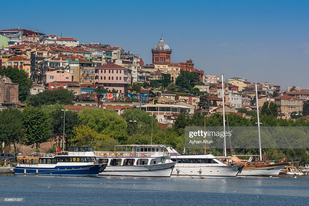 The Golden Horn in Istanbul : Foto de stock