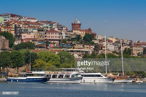 The Golden Horn in Istanbul : Foto de stock
