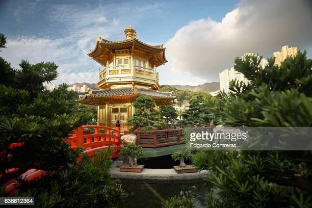 The Golden Pagoda, Nan Lian Garden, Hong Kong