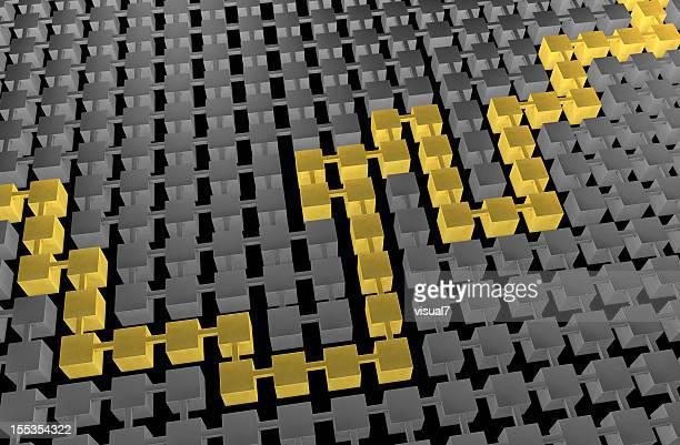 golden trajet, résolus maze