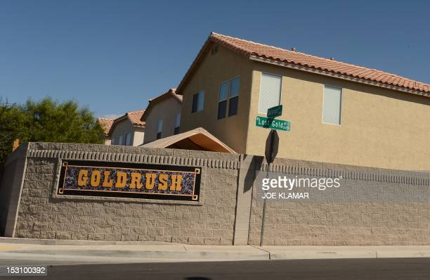 The Goldrush estates are seen in North West residential neghbourhood in Las Vegas Nevada on September 26 2012 Las Vegas has long had the dubious...