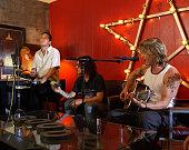 The Goo Goo Dolls during The Goo Goo Dolls at VH1's Rock The House at VH1 Set in Glendora California United States