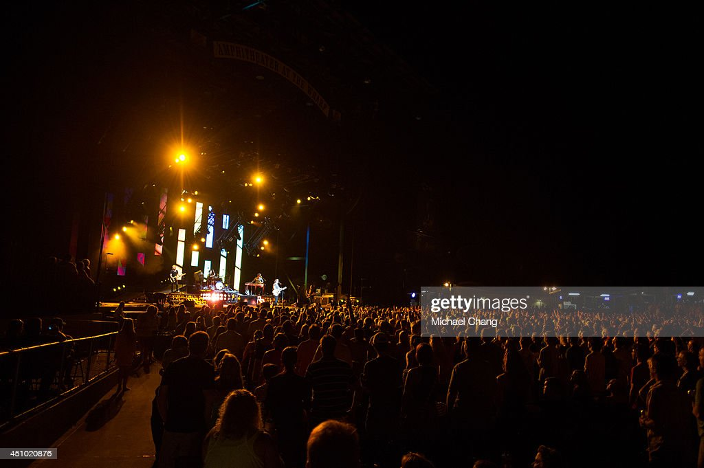 The Goo Goo Dolls perform in concert at The Amphitheater at the Wharf on June 21, 2014 in Orange Beach, Alabama.