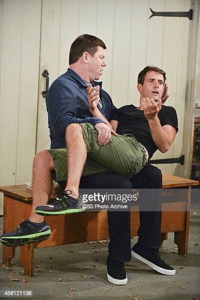 'The Good Coach' Pictured Jimmy Dunn as Sean and Joey McIntyre as Gerald Marjorie becomes jealous when she fears Ronny has a boyfriend Meanwhile...