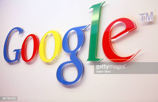 The Google logo is seen inside the company's offices on March 23 2015 in Berlin Germany The world's largest Internet company whose revenue this year...