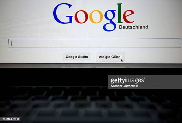 The Google search engine is displayed on a screen on June 02 2014 in Berlin Germany