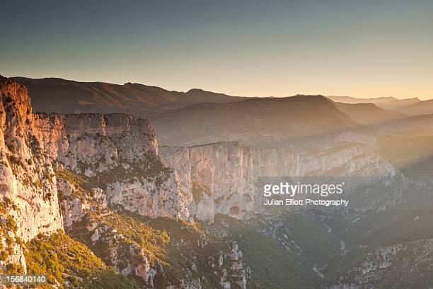 The gorges du Verdon in Provence.
